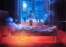 Nightmare for children. Royalty Free Stock Images