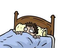 Nightmare draw Stock Photo