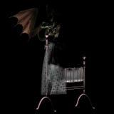 Nightmare dreams #01. Your worst nightmare Royalty Free Stock Photos