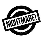 Nightmare rubber stamp Royalty Free Stock Photos