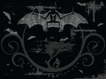 Nightmare vector - the bat Stock Image
