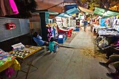 Nightmarket at Sukhumvit Road in Bangkok, Thailand Royalty Free Stock Photography