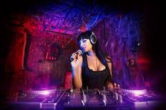 Nightparty DJ Stock Photos