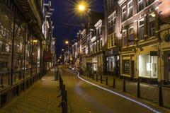 Nightphotography @阿姆斯特丹 库存照片