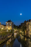 Nightportrait of Utrecht Royalty Free Stock Photography