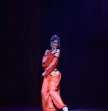 """ Nights†""""One тысячи и одного балета танцора живота Стоковое Изображение"""