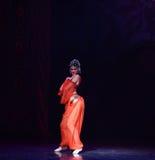 """ Nights†""""One тысячи и одного балета танцора живота Стоковые Изображения RF"""