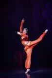 """ Nights†""""One тысячи и одного балета танцора живота Стоковое Изображение RF"""