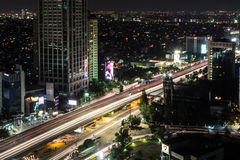 The nights of Jakarta Royalty Free Stock Image