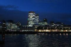 Nightscape του Λονδίνου στοκ εικόνα