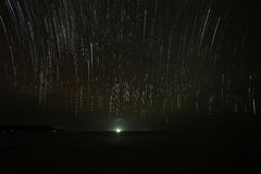 Nightscape, звезда, milkyway стоковое изображение