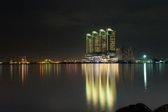 Nightscape, building Stock Images