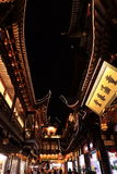 Nightscape of China historic town Stock Images