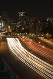 Nightscape orizzonte di Atlanta, Georgia. Immagine Stock Libera da Diritti