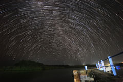 Nightscape, star, milkyway Stock Images