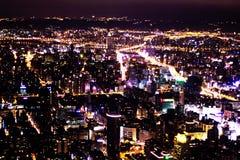 Nightscop Тайбэя 101 Стоковые Изображения RF