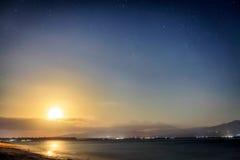 Nightshot in the Gili's island Stock Photo