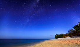 Nightshot in the Gili's island Stock Photo
