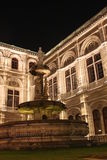 Nightshot of the rear facade of Vienna opera house Royalty Free Stock Photos