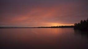 Nightsky ártico Imagen de archivo libre de regalías
