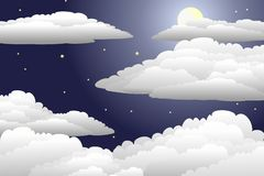 Nightsky Royalty Free Stock Photo