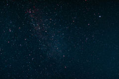 Nightsky over St. Peter-Ording. In Germany Stock Images