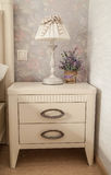 nightstand Arkivfoto
