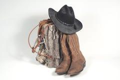 Nightstand du cowboy Images libres de droits