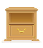 Nightstand furniture vector illustration Stock Photo