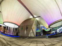 Nighttime в центре искусств Dadong Стоковая Фотография