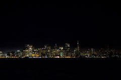 Nighttime Сан Francsisco Стоковое фото RF