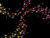 nighttime цветов сверкнает тепло Стоковая Фотография