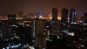 Nighttime Bangkok Royalty Free Stock Photography