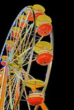 Nighttime Carnival Ferris Wheel Ride Stock Photography