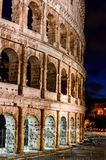 Nighttime Colosseum 4 стоковые фотографии rf