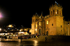 Nighttime in Peru Stock Photography