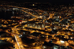 nighttime Seattle Zdjęcia Royalty Free