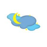 Nighttime Weather Icon Stock Image