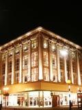 nighttimedetaljhandel royaltyfri fotografi