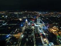 Nightview de la ciudad de Taipei Fotos de archivo libres de regalías