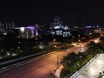 nightview di cyberjaya Fotografia Stock Libera da Diritti
