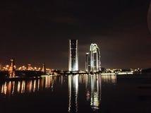 nightview di putrajaya Fotografie Stock Libere da Diritti