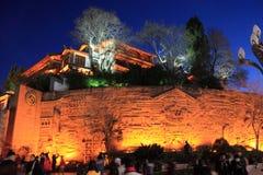 Nightview of  Lijiiang Royalty Free Stock Photo
