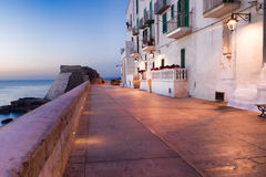 Nightview of Monopoli. Italy. Royalty Free Stock Image