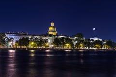 Nightview over Saint Petersburg Stock Photography