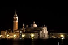 Nightview, Venise, Italie Photos libres de droits