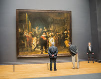 Nightwatch by Rembrandt st Rijksmuseum Royalty Free Stock Photography