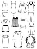 Nightwear Stock Images