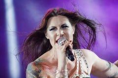 Nightwish em mestres da rocha 2015 Foto de Stock