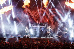 Nightwish at Masters of Rock 2015 Royalty Free Stock Photos
